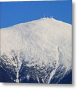 Mount Washington Summit And Weather Observatory Metal Print