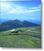 Mount Washington Summit Cog Railroad Metal Print