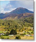 Mount Zeehan Valley Town. West Tasmania Australia Metal Print