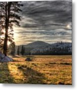 Mountain Afternoon Metal Print