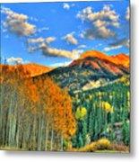 Mountain Beauty Of Fall Metal Print