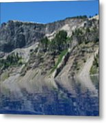Mountain Blue Metal Print