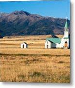 Mountain Chapel Metal Print