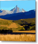 Mountain Country Metal Print