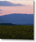 Mountain Dawn Metal Print