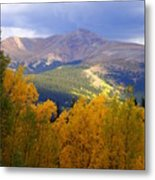 Mountain Fall Metal Print