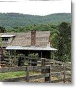 Mountain Farm Metal Print