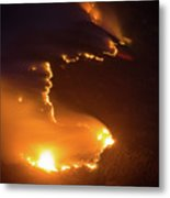 Mountain Fire Metal Print