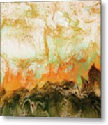 Mountain Flames II Metal Print