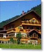 Mountain Guesthouse H B Metal Print