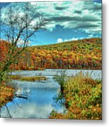 Mountain Of Color Metal Print