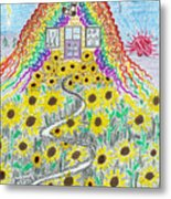 Mountain Of Knitting Jerome Az Metal Print