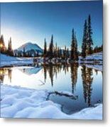 Mountain Peace  Metal Print