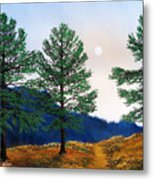 Mountain Pines Metal Print