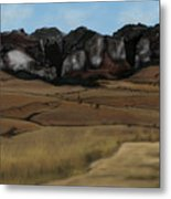 Mountain Plains Metal Print