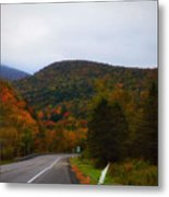 Mountain Road, Killington Vermont Metal Print