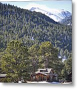 Mountain Scenery Metal Print