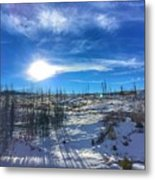 Mountain Shadows Metal Print