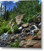 Mountain Stream 3 Metal Print