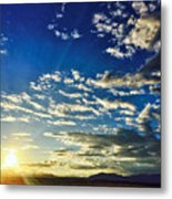 Mountain Sunset 3 Metal Print