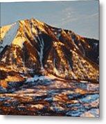 Mountain Sunsets Metal Print