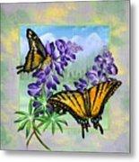 Mountain Swallowtail Metal Print