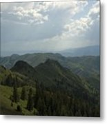 Mountain Top 5 Metal Print