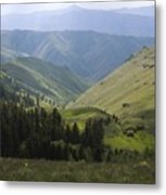 Mountain Top 6 Metal Print