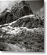 Mountain Track Metal Print