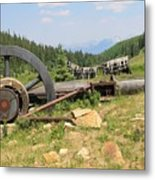Mountain Treasures 2 Metal Print