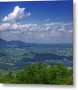 Mountain Veiw Metal Print