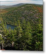 Mountain View, Acadia National Park Metal Print