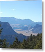 Mountain View On The Chief Joseph Highway Metal Print