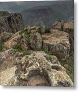 Mountainous Terrain Of Israel Metal Print