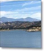 Mountainous View Metal Print