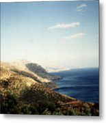 Mountains And Sea Metal Print