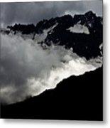 Mountains Clouds 9950 Metal Print
