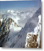 Mountain's Edge Metal Print