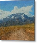 Mountains In Puru Metal Print