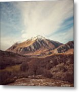 Mountains In The Background Xvii Metal Print