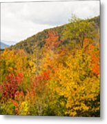 Mountains In The Fall Colors Metal Print