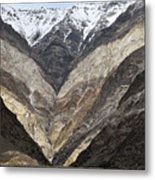 Mountains Of Ladakh Metal Print