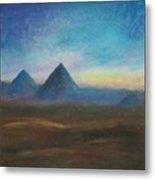 Mountains Of The Desert I Metal Print