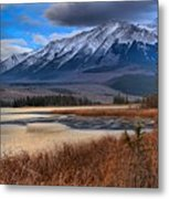 Mountains Over Talbot Metal Print