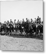 Mounted Guard, 1921 Metal Print