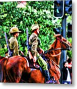 Mounted Infantry Metal Print