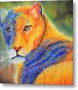 Mountian Lion 1 Metal Print