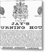Mourning House, 1891 Metal Print