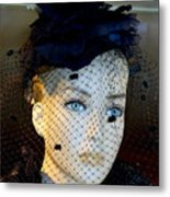 Mourning Millicent Metal Print