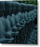 Mourning Row Metal Print